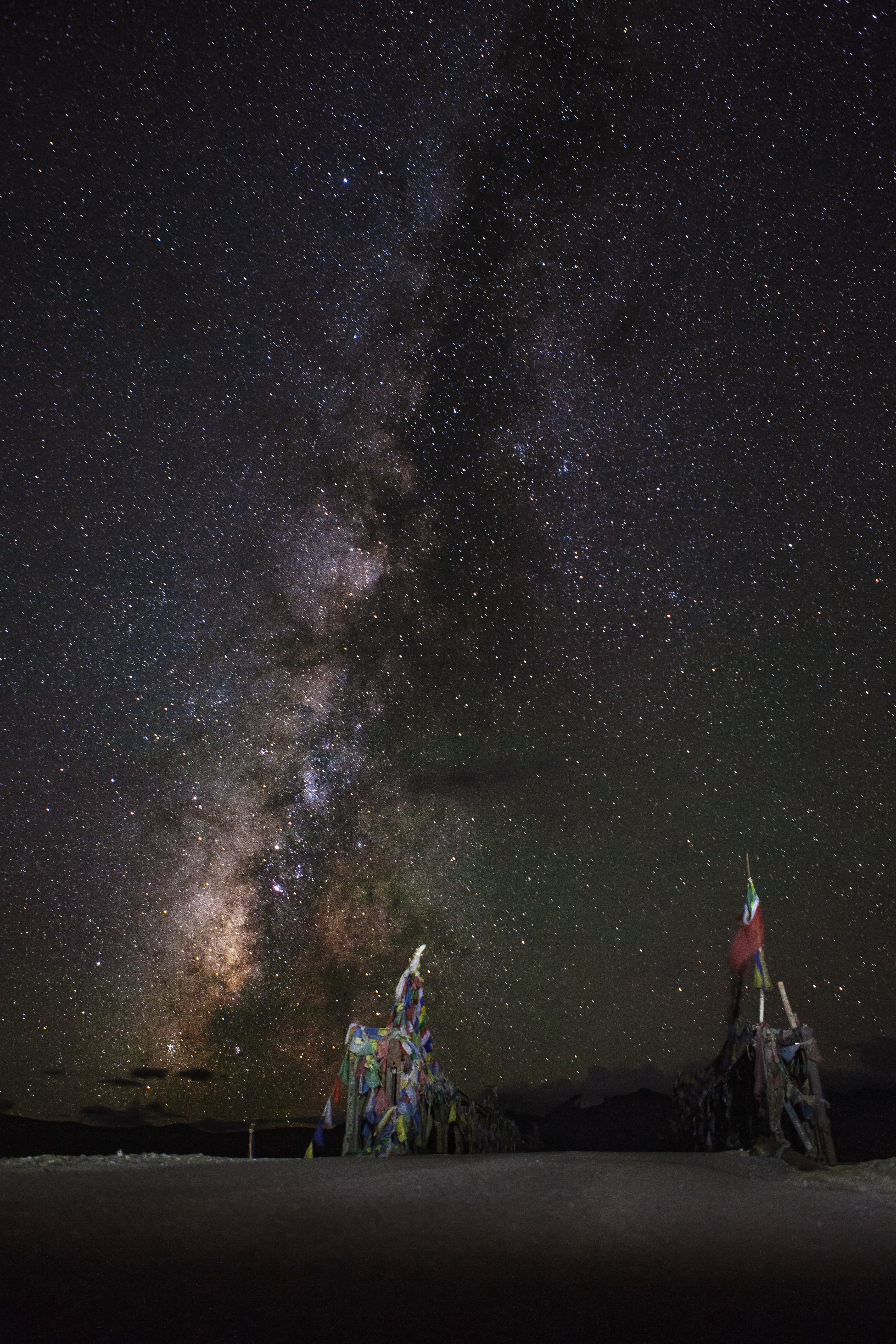 Captured during Astrophotography trip to Ladakh 2018.