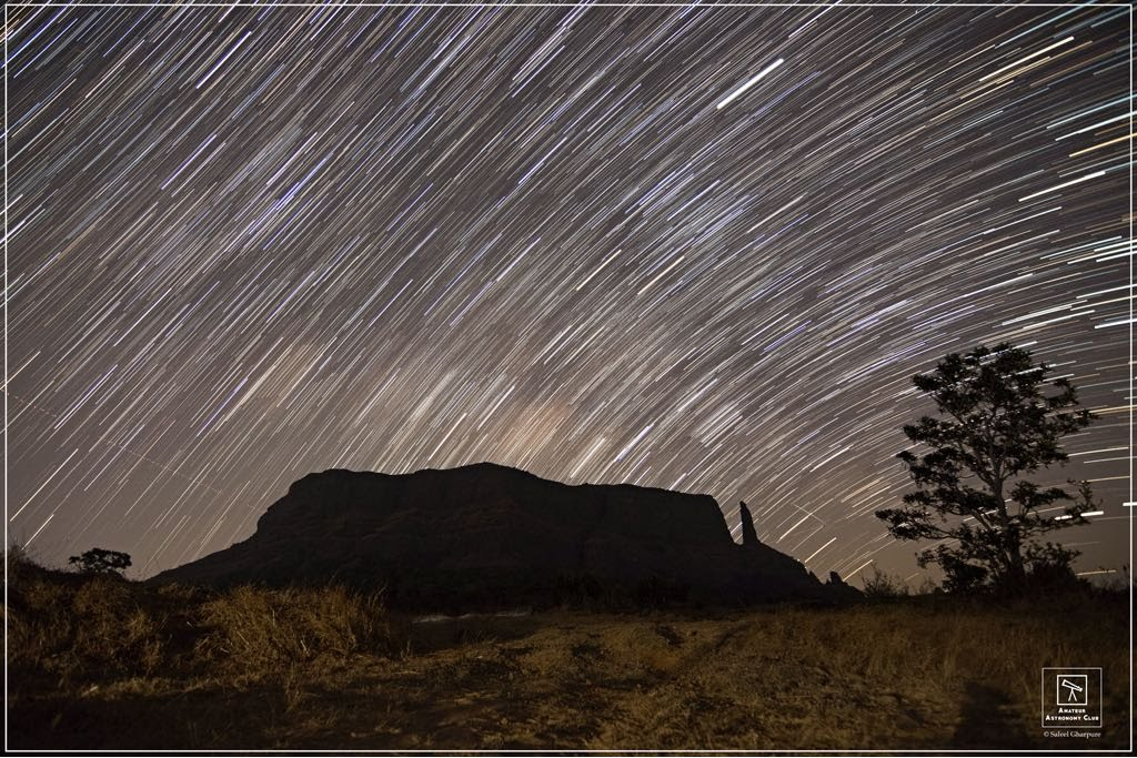 Star Trail captured at Naneghat.