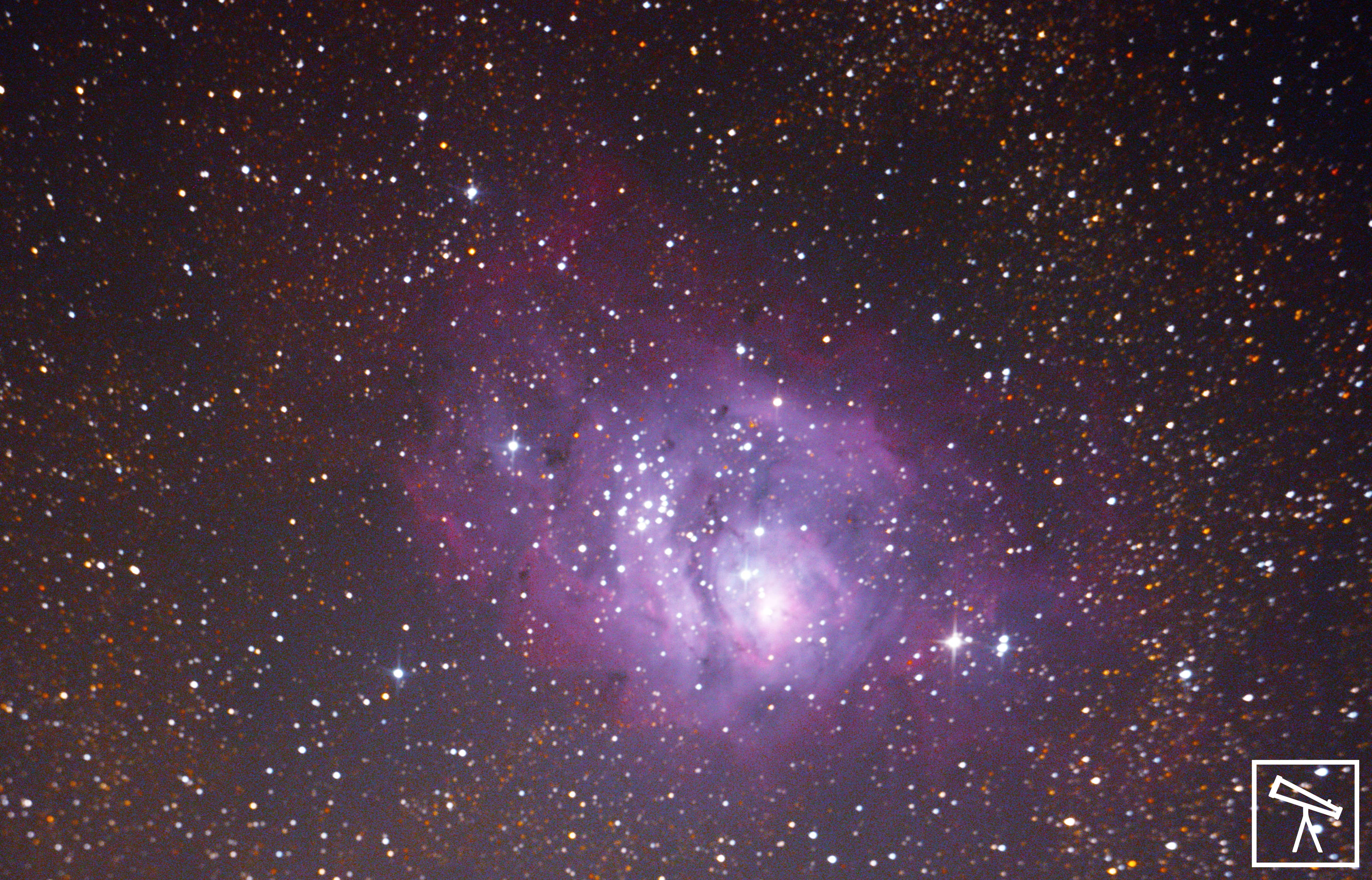 Lagoon Nebula captured by Team AAC at Naneghat.