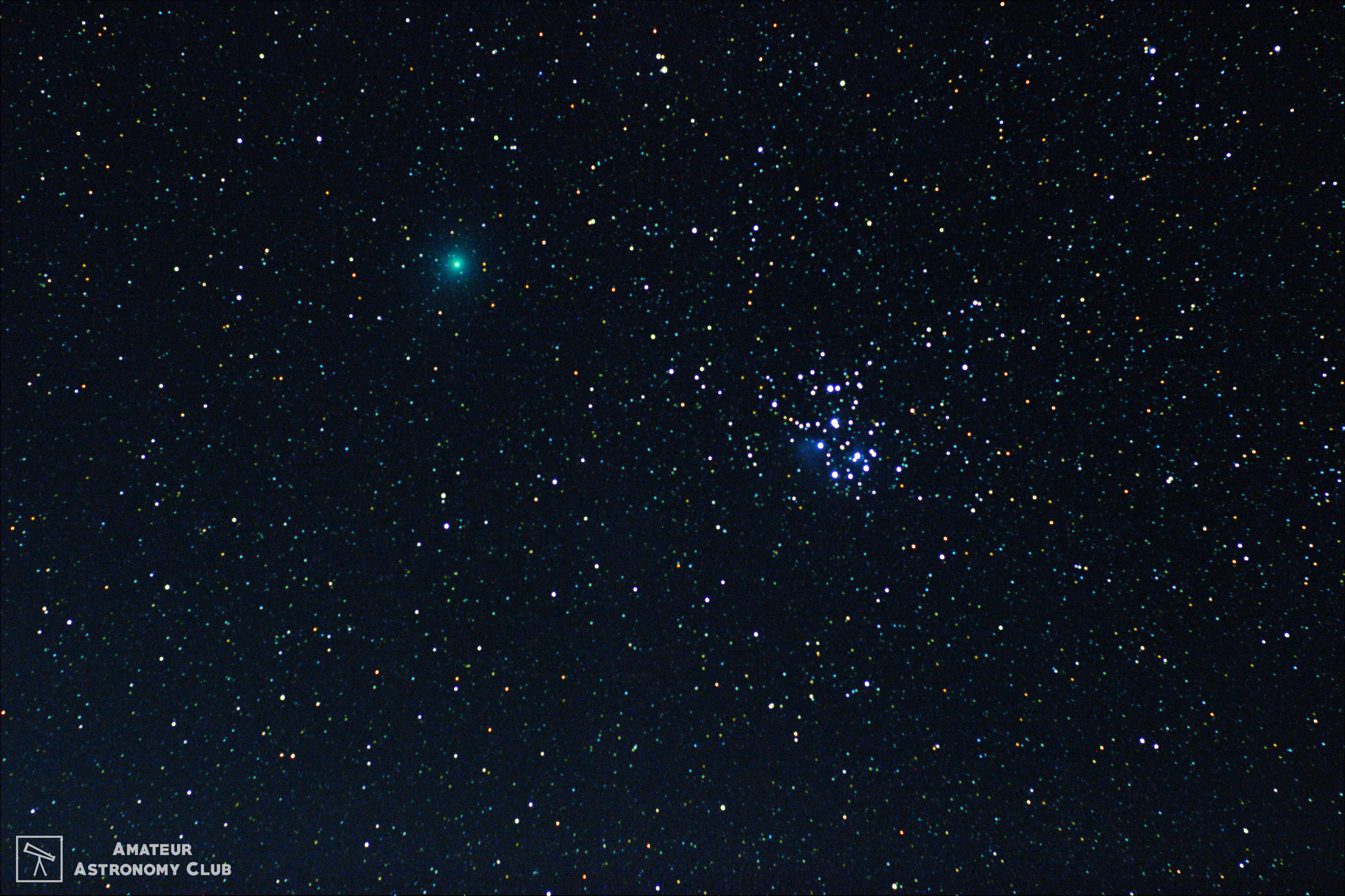 Comet Wirtanen/46p captured by Team AAC at Naneghat.